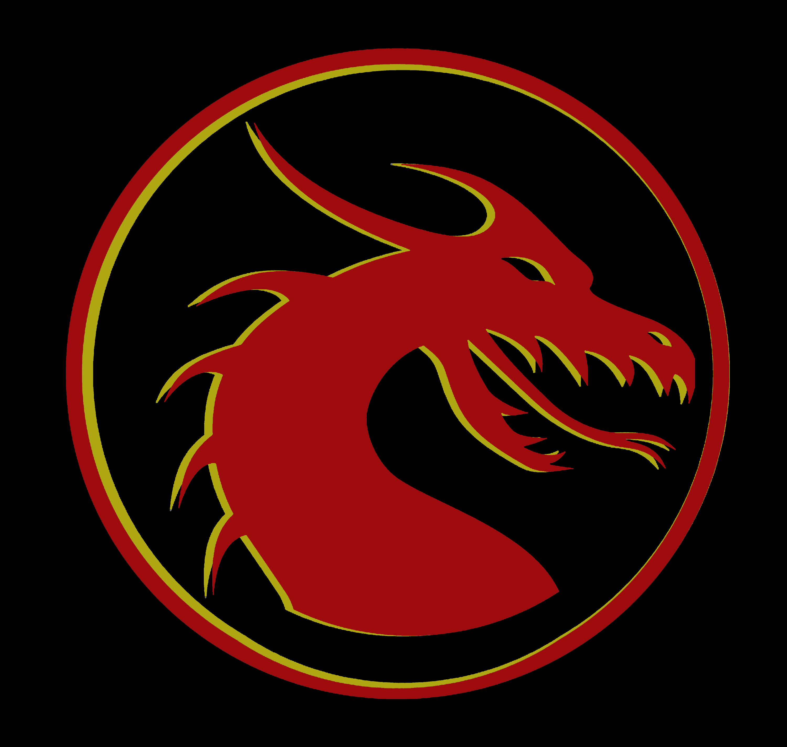 Celtic Fringe Dragon Logo